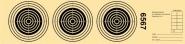 LG 3er -Streifen, nummeriert