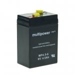 Multipower Blei Akku 6 V 4,5 Ah |