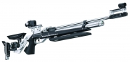 Luftgewehr 800 Alu aufgelegt cal. 4,5 mm Farben schwarz und rot