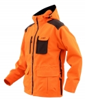 Jagdjacke orange/grau | M |