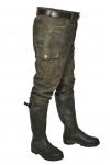 Stiefelhose Leder